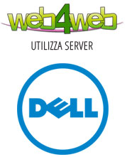 Web4Web utilizza server DELL